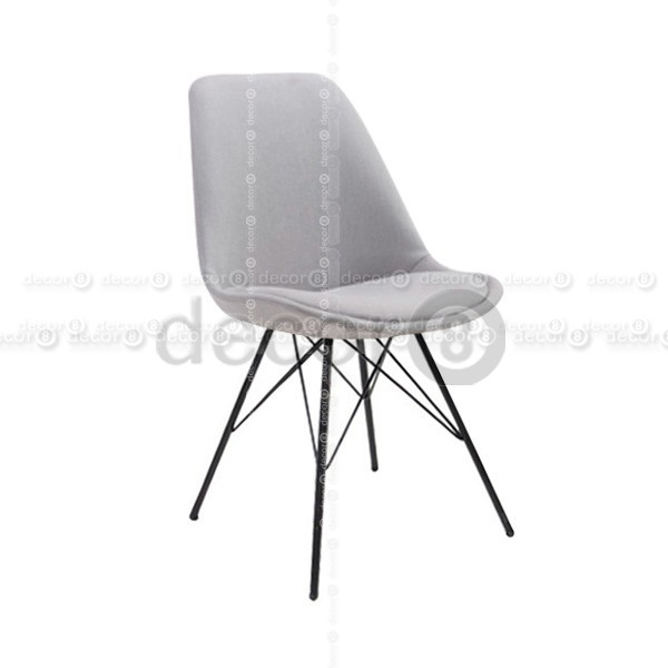Innovative Upholstered Dining Chairs With Black Legs Decor8 Chair Oliver Upholsteres Dining Chair Black Metal Legs