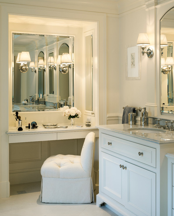 Innovative Vanity With Mirror And Chair Newest Selections Of Makeup Vanity Chair Homesfeed