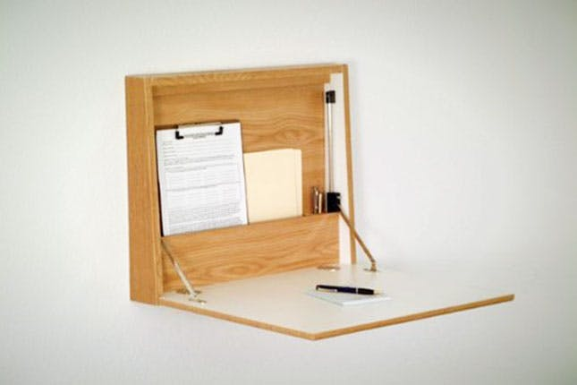 Innovative Wall Mounted Desk 17 Wall Mounted Desks To Make The Most Of Your Small Space Brit Co
