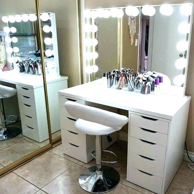 Innovative White Makeup Vanity With Storage White Makeup Vanity With Storage White Makeup Vanity Set Vanities