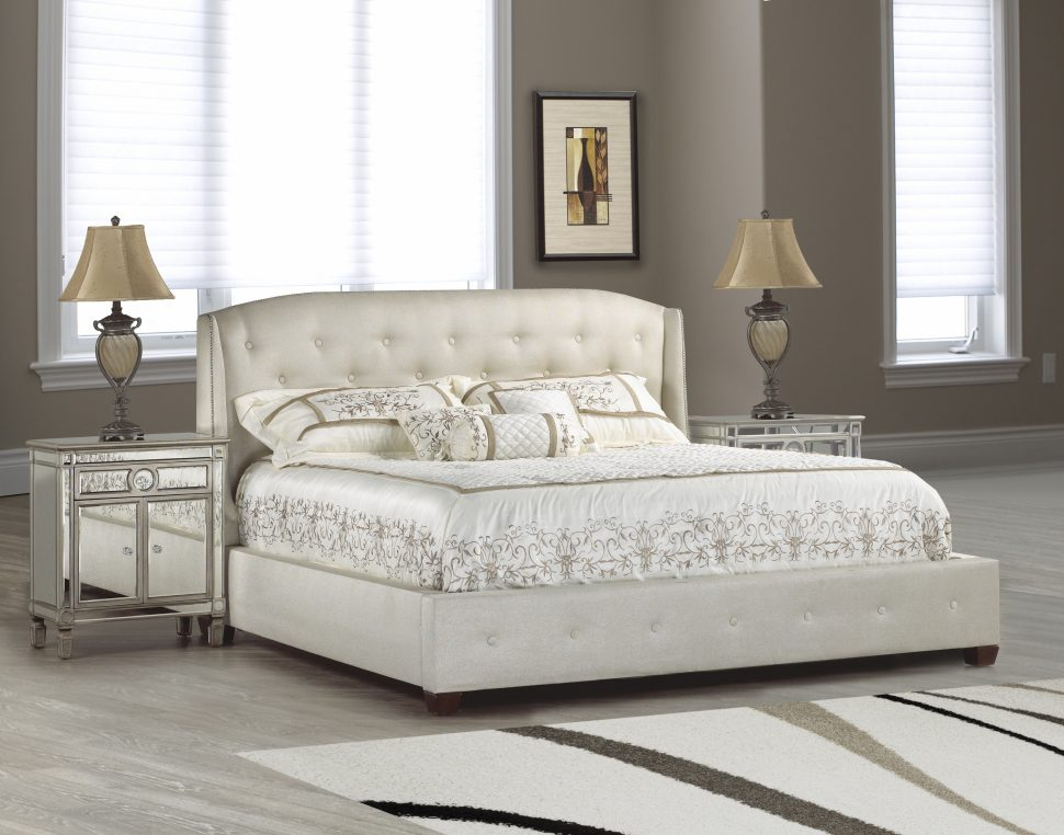 Innovative White Tufted Headboard And Footboard Uncategorized Upholstered Headboards Headboard And Footboard Bed
