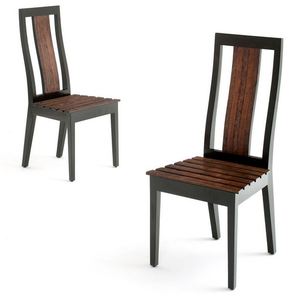 Innovative Wooden Dining Stools Modern Rustic Wood Chair Reclaimed Wood Contemporary
