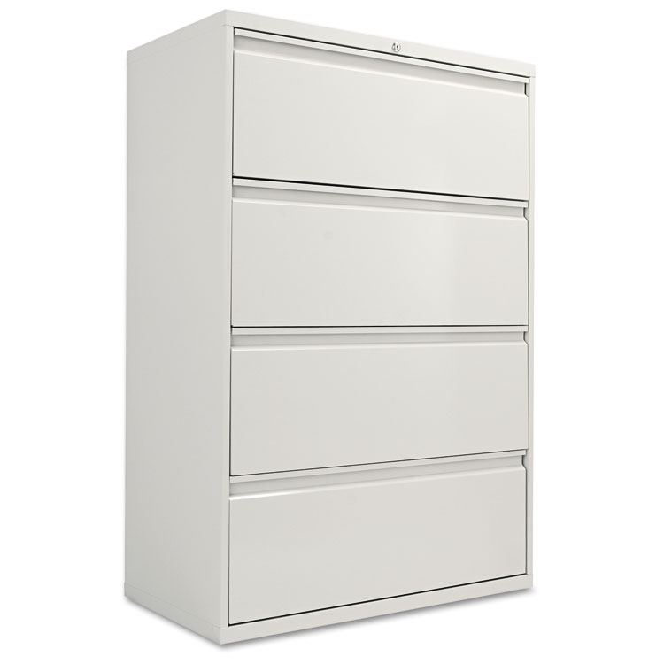 Lovable 1 Drawer File Cabinet Alera Four Drawer Lateral File Cabinet 36w X 19 14d X 53 14h