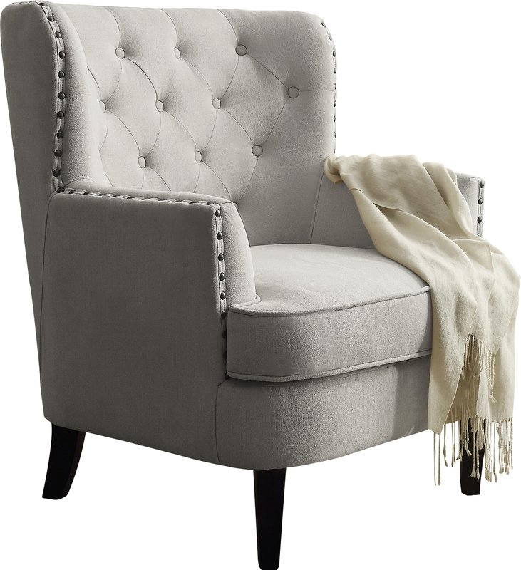 Lovable Accent Chairs With Arms And Ottoman Accent Chairs Joss Main