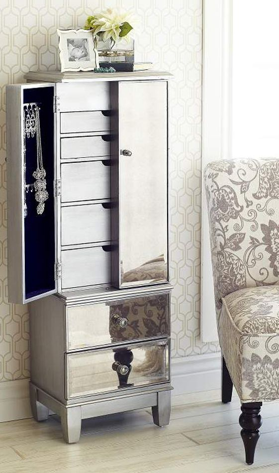 Lovable Armoire Dresser With Mirror Best 25 Jewelry Dresser Ideas On Pinterest Glam Closet Luxury