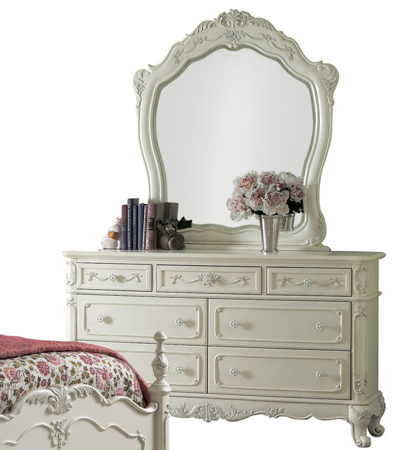 Lovable Armoire Dresser With Mirror Homelegance Cinderella Kids Dresser With Mirror In White