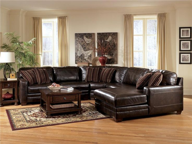 Lovable Ashley Brown Leather Couch Best 25 Ashley Leather Sofa Ideas On Pinterest Neutral Basement