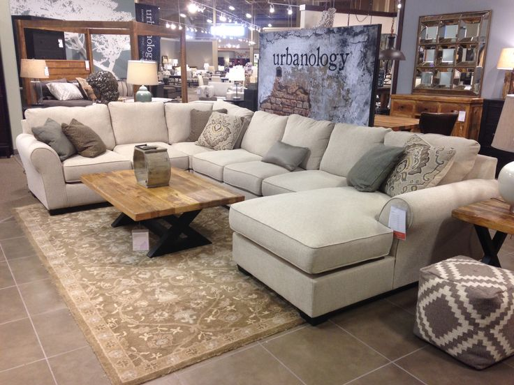 Lovable Ashley Furniture Black Leather Couch Ashley Furniture Urbanology Modern Rustic Pinterest