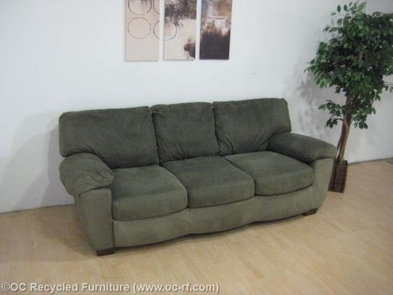 Lovable Ashley Furniture Green Couch Green Microfiber Sofa Ashley Furniture Thumbnail Africa