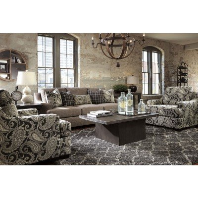 Lovable Ashley Furniture Gypsum Sofa Gypsum Charcoal Accent Chair Accent Chairs Living Room