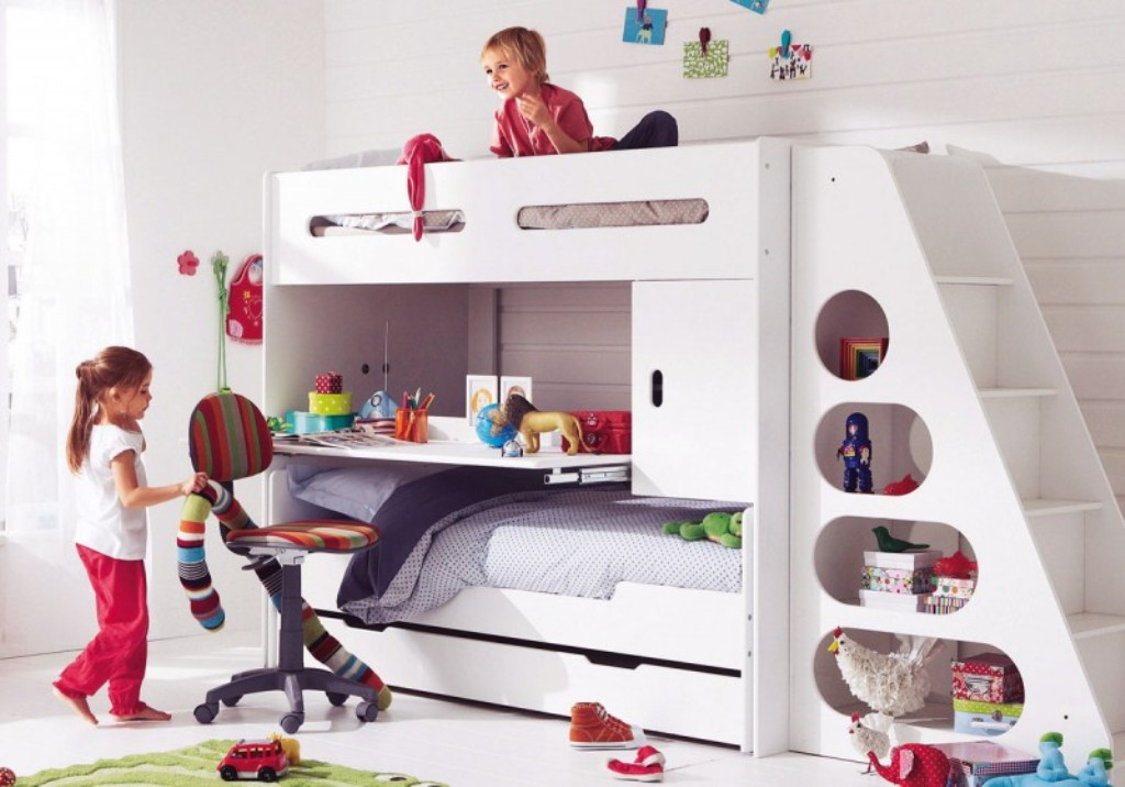 Lovable Ashley Furniture Kids Bunk Beds Kids Bunk Beds With Slide Ashley Furniture Kids Bunk Beds With