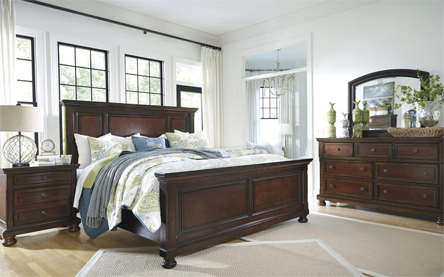 Lovable Ashley Furniture Queen Headboard Porter Queen Panel Bed From Millennium Ashley Furniture