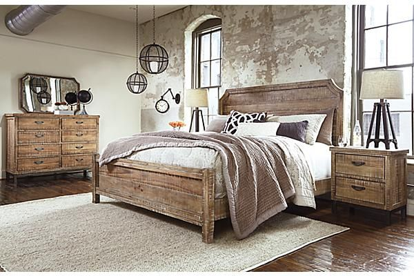 Lovable Ashley Furniture Wood Bed The Fanzere Panel Bed From Ashley Furniture Homestore Afhs