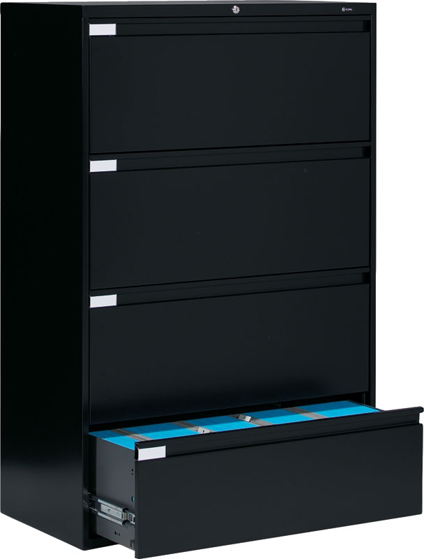 Lovable Big Filing Cabinets Global 9336p 4 Drawer Lateral Filing Cabinet