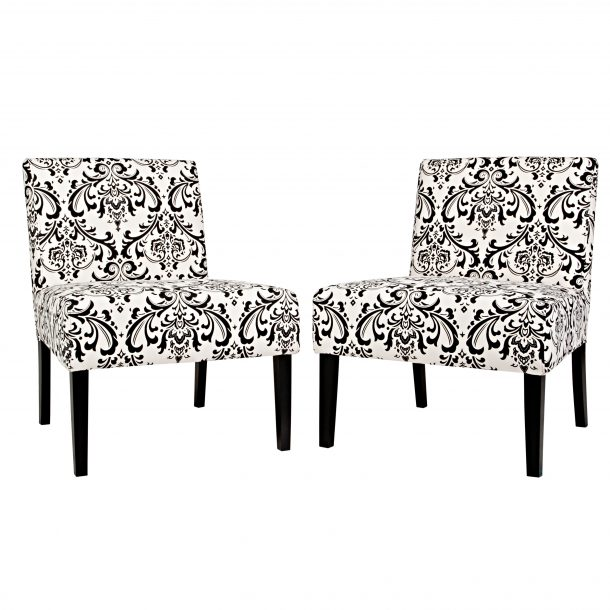 Lovable Black And White Accent Chair Dining Room The Most Chair White Accent Chairs Black And Floral