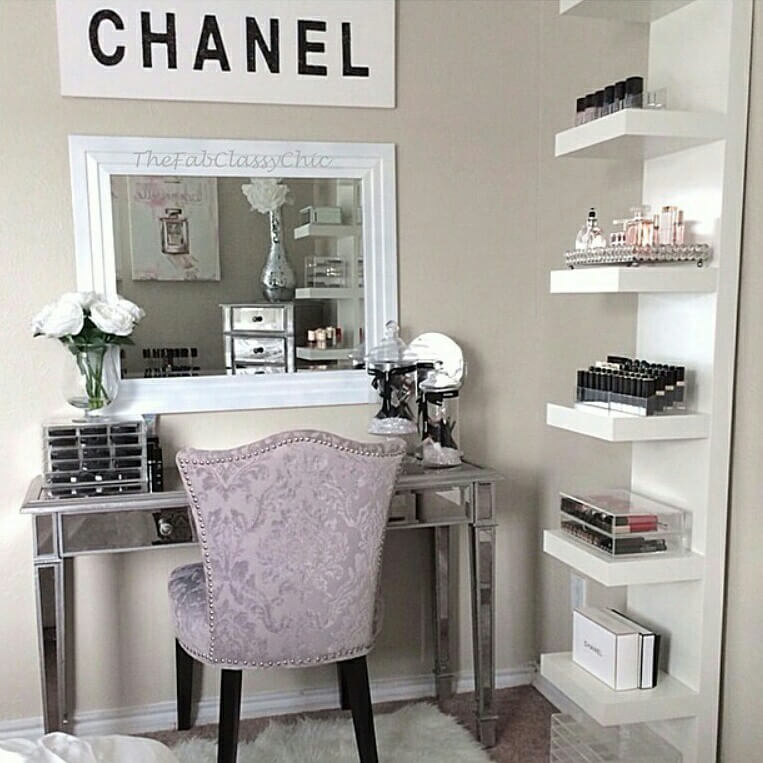 Lovable Black And White Makeup Vanity 19 Best Makeup Vanity Ideas And Designs For 2017