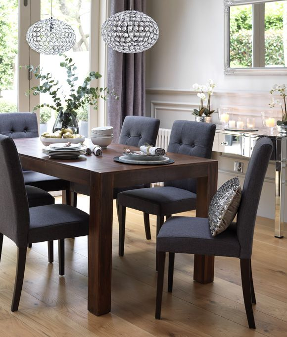Lovable Black Dining Table And Chairs Set Home Dining Inspiration Ideas Dining Room With Dark Wood Dining
