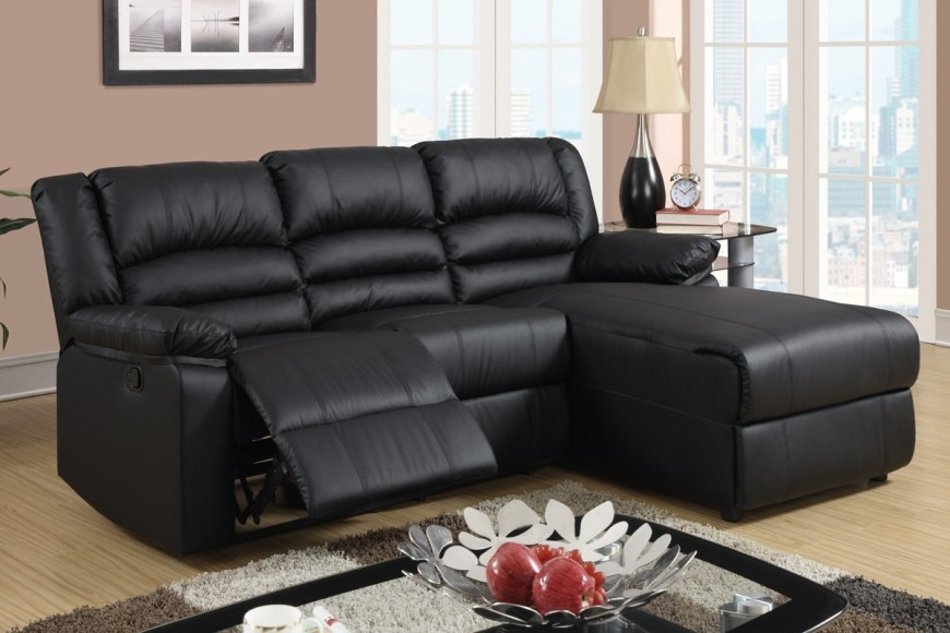 Lovable Black Sectional Sofa With Chaise Appealing Leather Recliner Sectional Sofa Top 10 Best Recliner