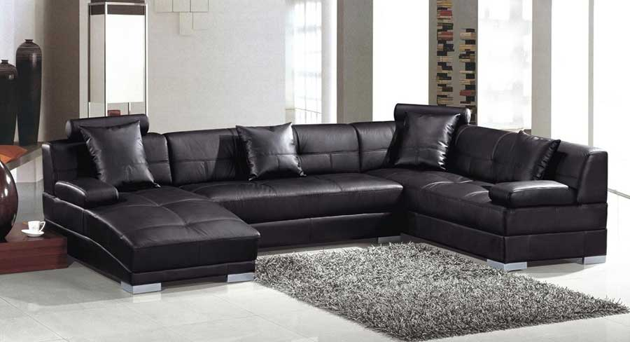 Lovable Black Sectional Sofa With Chaise Sofa With Chaise History Exist Decor