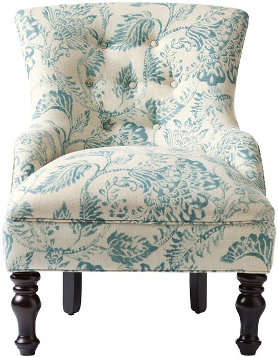 Lovable Blue And Gray Accent Chairs Custom Elaine Accent Chair Home Decorators Havenly