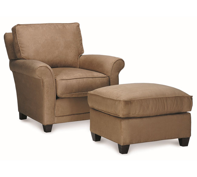 Lovable Brown Accent Chair With Ottoman Alluring Accent Chairs With Ottoman Striped Accent Chair With