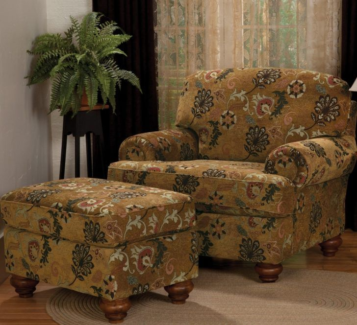 Lovable Brown Accent Chair With Ottoman Chairs Amazing Oversized Chairs With Ottoman Oversized Chairs