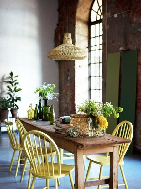 Lovable Colored Wood Dining Chairs Best 25 Yellow Dining Chairs Ideas On Pinterest Upholstered