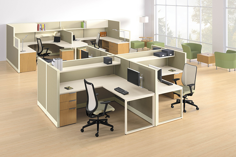 Lovable Commercial Office Furniture Office Cubicle Freedmans Office Furniture