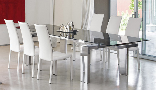 Lovable Contemporary Dining Room Sets Modern Dining Room Set Bonaldo