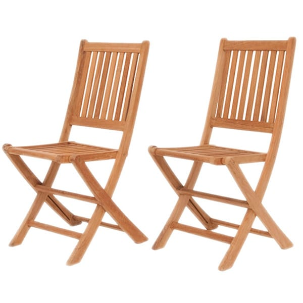 Lovable Dining Side Chairs Amazonia Teak Terra Teak Dining Side Chairs Set Of 2 Free