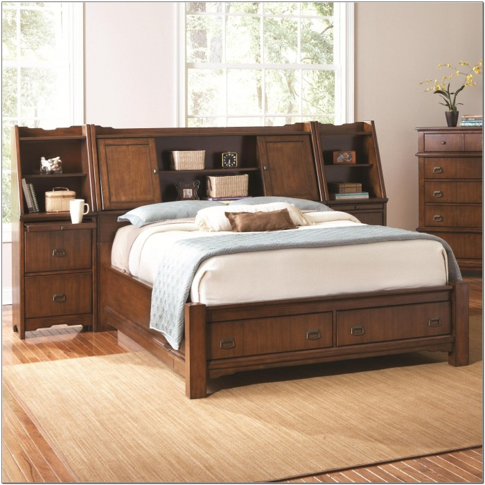 Lovable Double Bed Headboard And Footboard Fresh Queen Storage Bed With Bookcase Headboard 94 For Queen