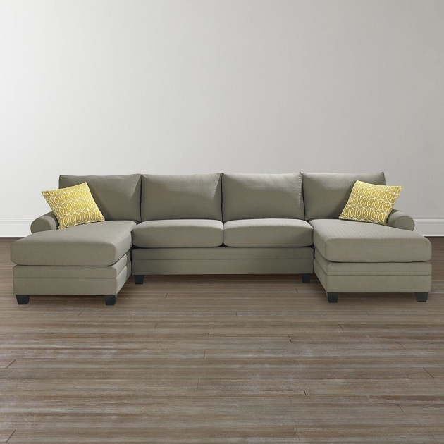 Lovable Double Chaise Lounge Sectional Sofa Chaise Lounge Couch Craftsman Style Sectional Sofas Pictures 57