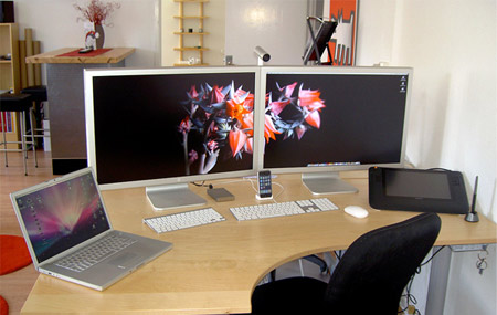 Lovable Dual Monitor Office Setup Mashup 20 Of The Coolest Home Office Workstation Setups Compiled