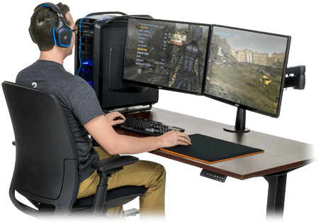 Lovable Ergonomic Pc Desk 15 Gaming Desks Worth Checking Out 2017 Reviews