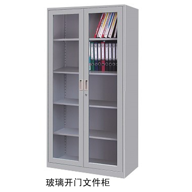 Lovable File Cabinet With Doors Office Cabinets With Glass Doors Image Yvotube