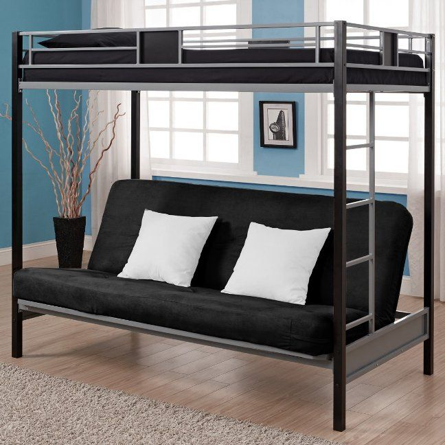 Lovable Futon Bed With Mattress Included Twin Over Futon Bunk Bed With Mattress Included Eva Furniture