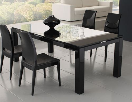 Lovable Glass Top Modern Dining Table Modern Dining Set Glass Top Insurserviceonline
