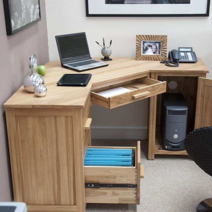Lovable Home Office Computer Table Best 25 Corner Computer Desks Ideas On Pinterest White Corner
