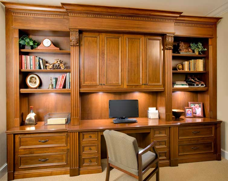 Lovable Home Office Desk Cabinets Wall Units Awesome Office Built Ins Charming Office Built Ins