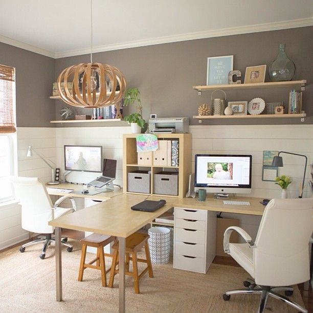 Lovable Home Office Study Desk Best 25 Shared Office Ideas On Pinterest White Study Desks