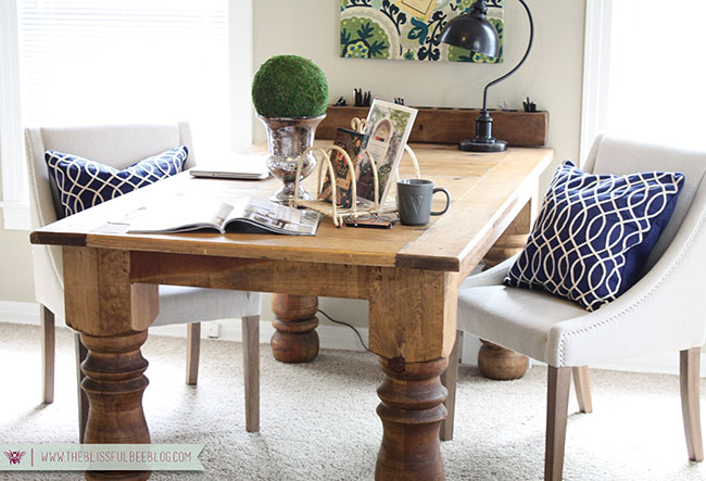 Lovable Home Office Table Home Office Makeover