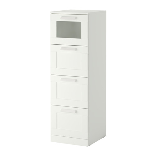 Lovable Ikea 5 Drawer Chest Of Drawers Brimnes 4 Drawer Chest Whitefrosted Glass Ikea