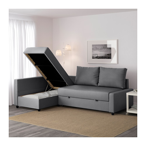 Lovable Ikea Bed And Sofa Friheten Corner Sofa Bed With Storage Skiftebo Dark Grey Ikea
