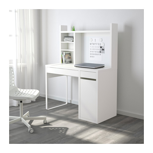 Lovable Ikea Computer Workstation Micke Workstation White 105x50 Cm Ikea