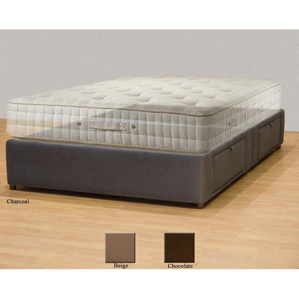 Lovable King Bed And Box Spring Shop Tiffany 4 Drawer California King Bed Storage Mattress Box