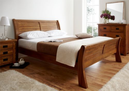 Lovable King Bed Frame Only Normandy Oak Sleigh Bed King Size Bed Frame Only Beds