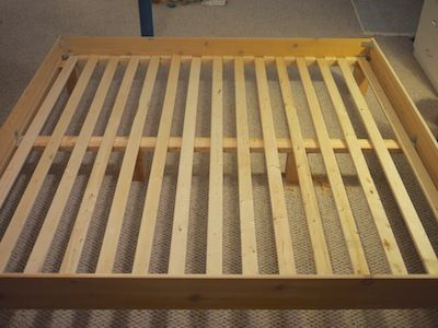 Lovable King Bed Slats With Center Support 18 Best Do It Yourself Images On Pinterest Bed Frames Build