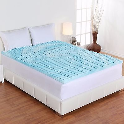 Lovable King Foam Mattress Topper 2 Inch Gel Memory Foam Mattress Topper Queen King Full Twin Xl Bed
