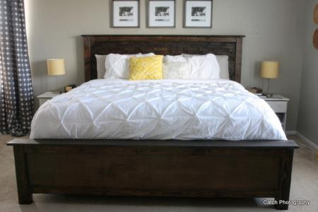 Lovable King Size Bed With Footboard Beds