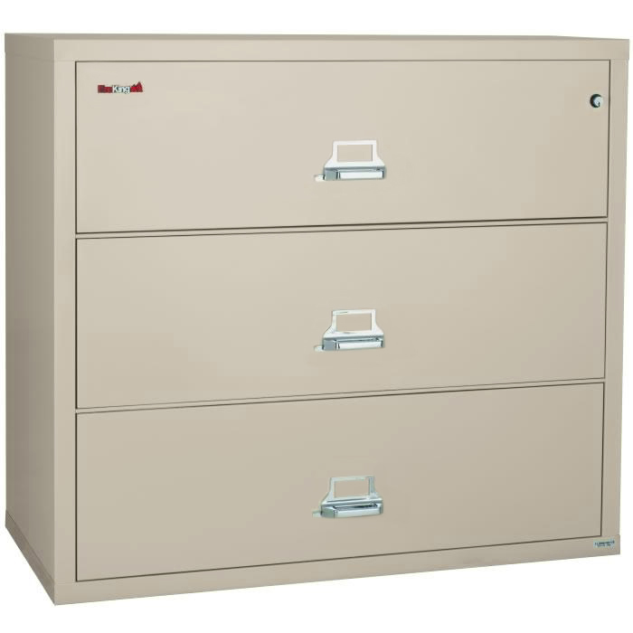 Lovable Large Filing Cabinets Fireking 3 3122 C 31 Wide Lateral File Cabinet With 3 Drawer